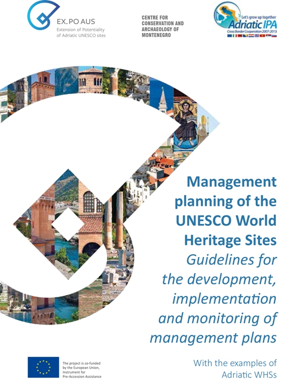 "Publication: ""Management Planning of the UNESCO World Heritage Sites"""