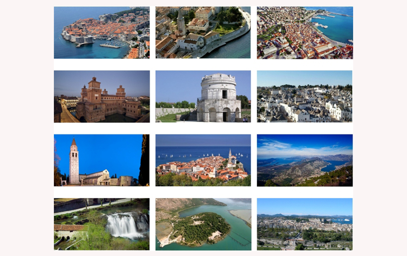 Reports on management and management effectiveness of the UNESCO World Heritage Sites on the Adriatic